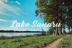 【散歩道】佐鳴湖の湖畔を歩く。