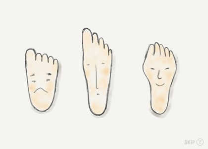自分の足に合った靴が見つからない 〜 靴の選び方 〜