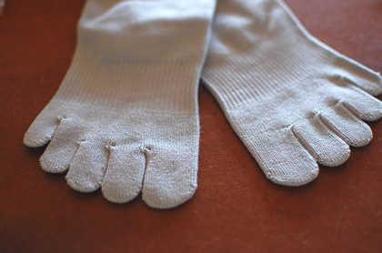 靴選びと靴下(ソックス)はセットで考えよう