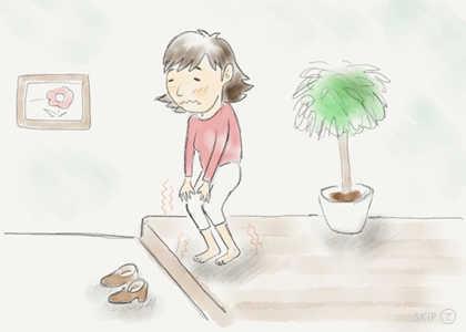 リウマチや糖尿病など敏感な足でお悩み 〜 靴の選び方 〜
